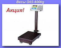 Весы электронные торговые BITEK 600кг с усиленной платформой 45х60см YZ-909-G6S-600kg!Акция