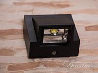 Однолучевой фасадный LED светильник DFB-8005-BL-