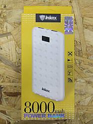 Внешний аккумулятор Power Bank Inkax 8000mAh