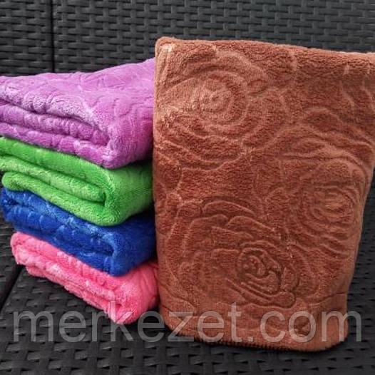 """Полотенца микрофибра. Банные полотенца """"Черная Роза"""". Полотенце для бани"""