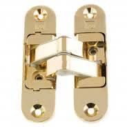 Петли дверные скрытые  Koblenz Kubica 6200 универсальные золото