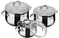 Набор посуды из нержавеющей стали 6 пр. MaxMark MK-BL6506A