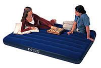 Двухместный надувной матрас Intex Classic Downy 152х203х22 см. 68759