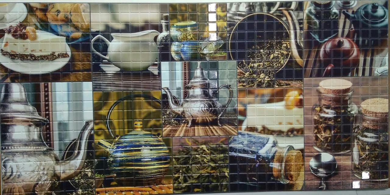 Пластикова листова стінова панель ПВХ Регул Ерл Грей 0,3мм 956*480 мм