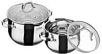 Набор посуды из нержавеющей стали 4 пр. MaxMark MK-BL6504A