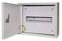 Электротехнический шкаф. Металлический монтажный корпус ЩРН-12 IP31 1мм