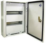 Электротехнический шкаф герметичный. Металлический монтажный корпус ЩРН-24 IP54 0,8мм