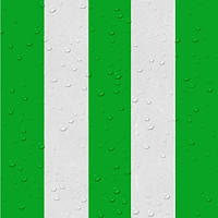 Палаточная ткань - цвет бело-зеленый