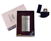"""USB зажигалка в подарочной упаковке """"TIGER"""" (Двухсторонняя спираль накаливания) №4789-3"""