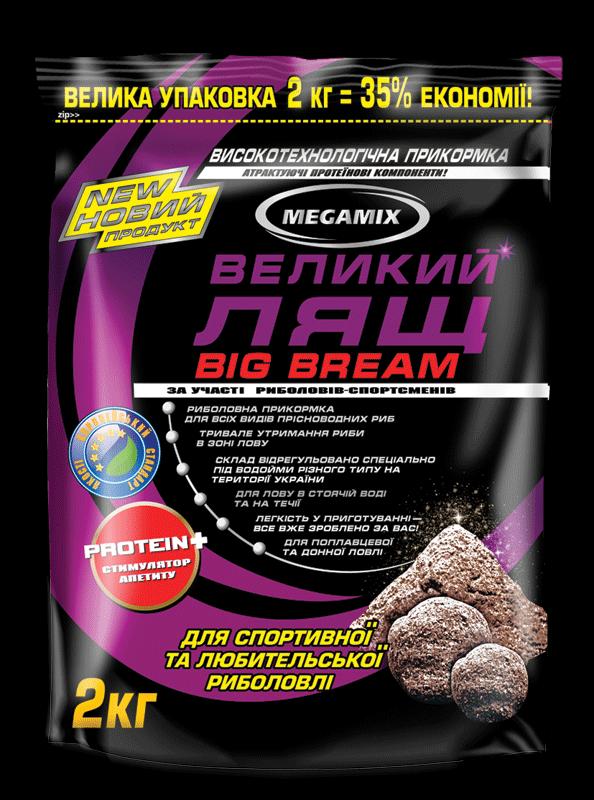 Прикормка Megamix Лещ Большой, 2кг