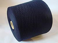 Пряжа ZEGNA BARUFFA  BRITTANY 100%-шерсть, черный цвет, Италия