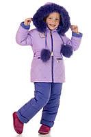 Комбенизон детский зимний на девочку Асия размеры 92- 104