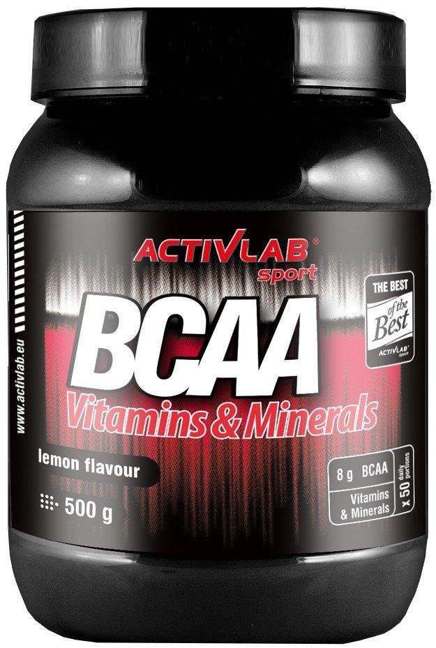 Activlab BCAA Vitamins & Minerals 500 g, Активлаб БЦА Витамины +Минералы 500 грамм