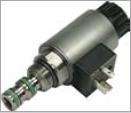 Электромагнитный клапан мусоровозов Faun для основного блока управления