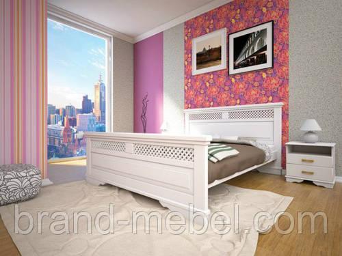 """Деревянная кровать """"Атлант 26"""""""