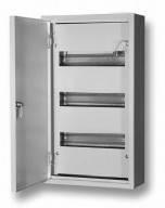 Электротехнический шкаф герметичный. Металлический монтажный корпус ЩРН-36 IP54 1,2мм