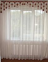 Жесткий ламбрекен Ромбики и квадраты 2м , фото 1