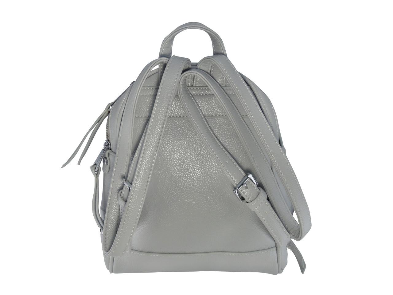 ad76a2e47157 ... фото Женский рюкзак в стиле Michael Kors маленький (серый) №9335-1, фото