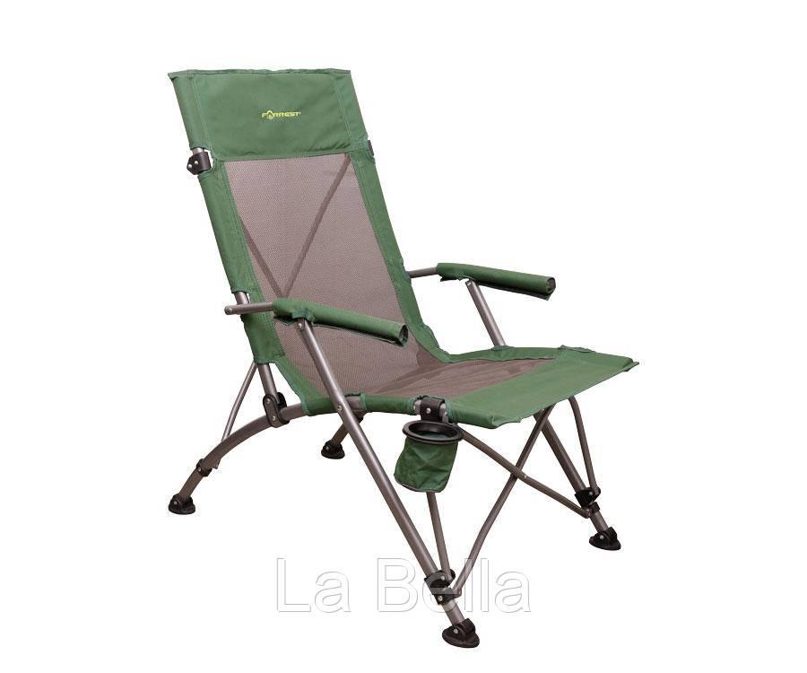 Кресло туристическое складное Forrest с подлокотниками