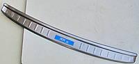 Kia Sportage KX5 Mk4 2015+ накладка защитная на задний бампер V1