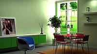Дизайн-проект интерьера - зона отдыха  green mile