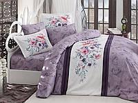 Комплект постельного белья First Choice Ranforce Deluxe евро VALERIA