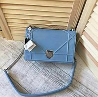Люкс-реплика Dior Diorama голубая