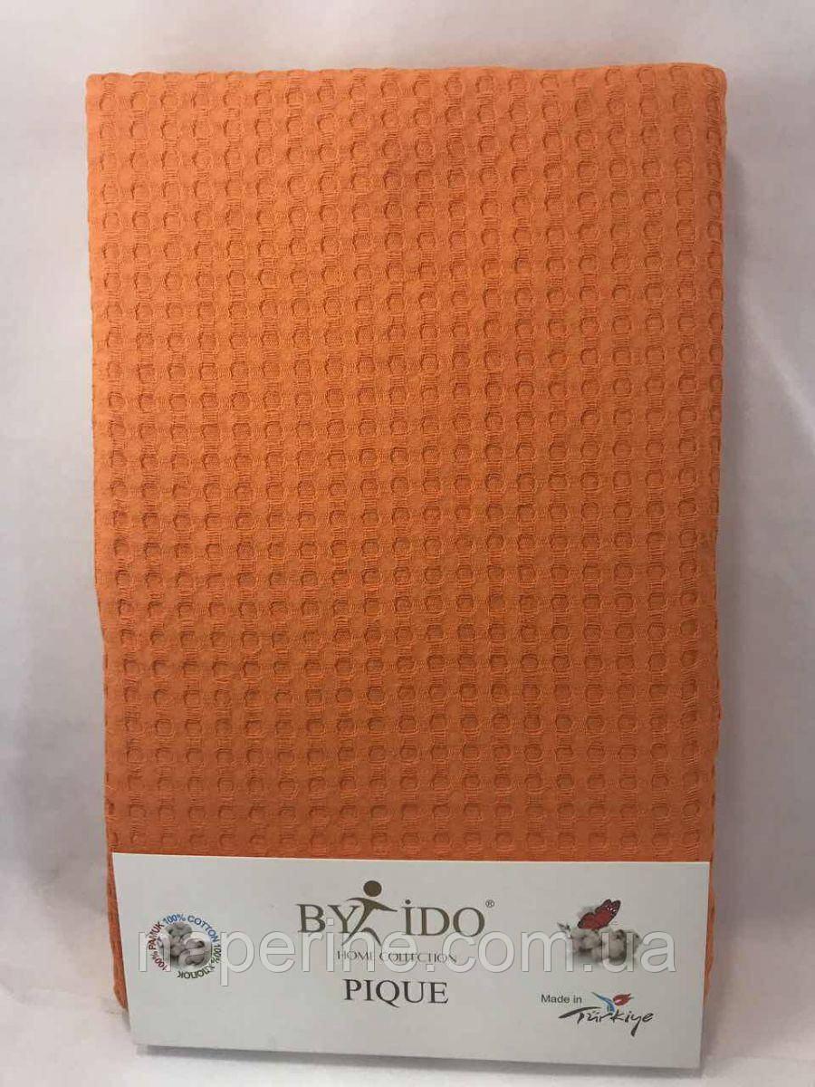 Летняя вафельная простынь By IDO, полуторная 160х240 см.