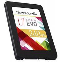 """Винчестер SSD 240Gb, Team L7 Evo, SATA3, 2.5"""", TLC, 530/370 MB/s (T253L7240GTC101)"""