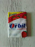 Жевательная резинка Orbit «Strawberry» упаковка 5х5 (25 пластинок)