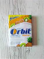 Жевательная резинка Orbit «Tropical» упаковка 5х5 (25 пластинок)