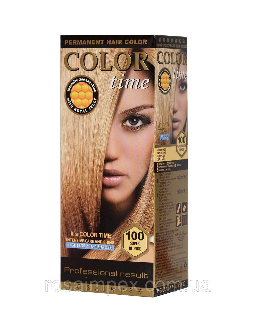 Color Time №100 Скандинавский блондин