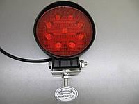 Дополнительные  фары 27Вт.  LED GV 1205-27W красного света. https://gv-auto.com.ua
