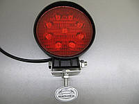 Дополнительные  фары 27Вт.  LED 1205-27W красного света, фото 1