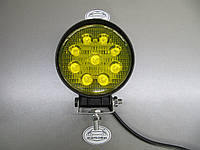 Дополнительные фары 27Вт. LED GV 1205-27W жёлтого света. https://gv-auto.com.ua
