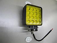 Дополнительные фары 48Вт.- LED GV 1210-48W жёлтого света. https://gv-auto.com.ua, фото 1