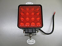 Светодиодная фара 48Вт. LED GV 1210-48W красного света, фото 1