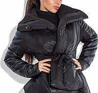 Дутая стильная тёплая куртка