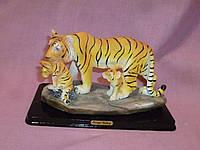 Тигры статуэтка фигурка дкоративная 17х8,5 сантиметров
