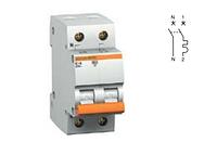 11219 один полюс+нейтраль 63А автоматический выключатель ВА63 Schneider Electric Domovoy