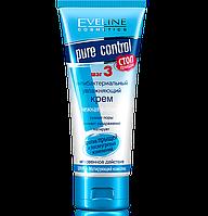 Крем антибактериальный увлажняющий матирующий Eveline Cosmetics Pure Control