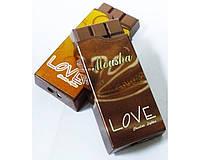 Зажигалка карманная Шоколад Love (обычное пламя) №2376