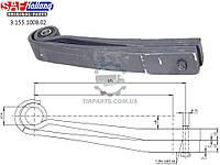 Полурессора подвески SAF 2 листовая короткая 2*43 635*580*55 (2-х листовая обрубок) (88611800 | 5166175)