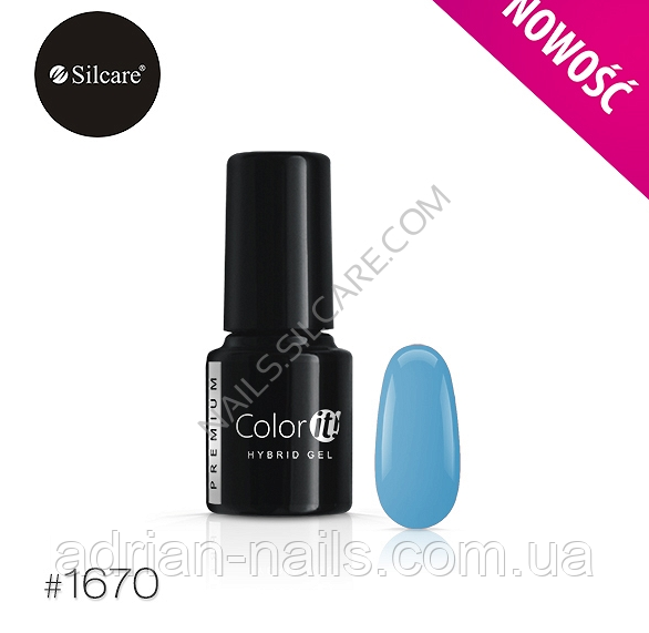 Гель-лак Color it Premium № 1670