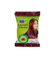 Хна для волос натуральная, Коричневая -Хна /Mayuri henna natural brown