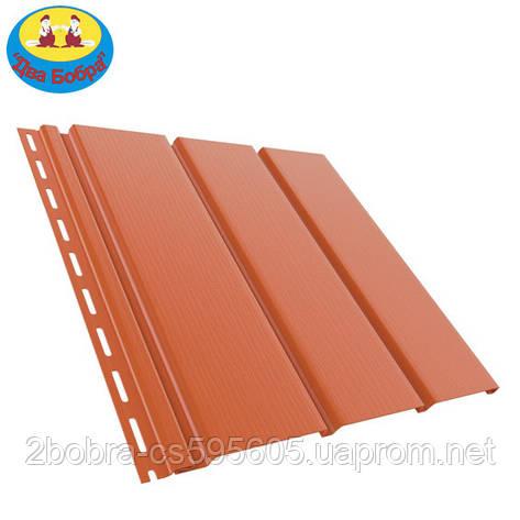 Панель софит | 1.22 кв.м (4x0,31) | Кирпичный | Bryza, фото 2