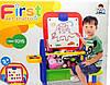 Детский мольберт XFG 905 (доска для рисования+магнитная азбука) напольная со стульчиком киев