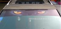Наклейка на стекло автомобиля солнцезащитная