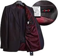 Standar Классический мужской черный костюм, 188/92/82, полушерсть