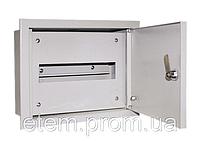 Электротехнический шкаф. Металлический монтажный корпус ЩРВ-12 IP31 1мм